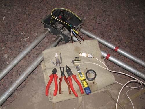 Особенности технологии электромонтажа в стальных трубах