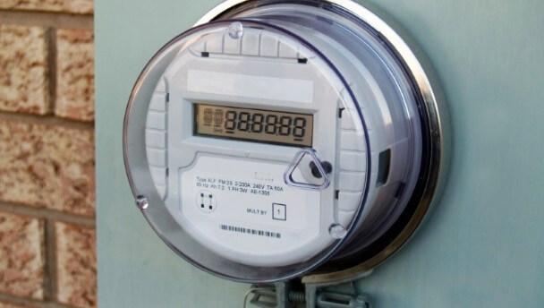 Электронный дисплей счетчика электроэнергии