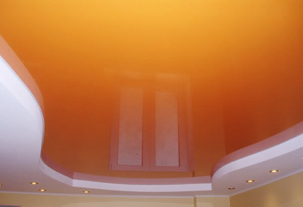 Фото натяжной потолок в квартире