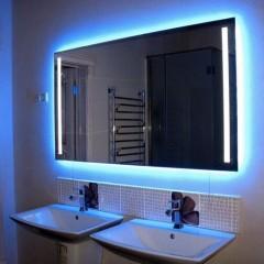 Делаем светодиодную подсветку зеркала в ванной комнате