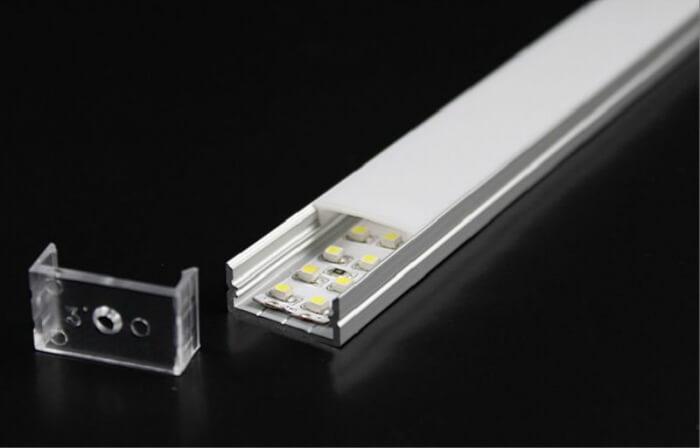 Алюминиевый светодиодный профиль фото