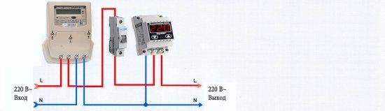 Типовой проект подсоединения к однофазной электросети