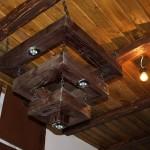 Точечные светильники в ретро дизайне
