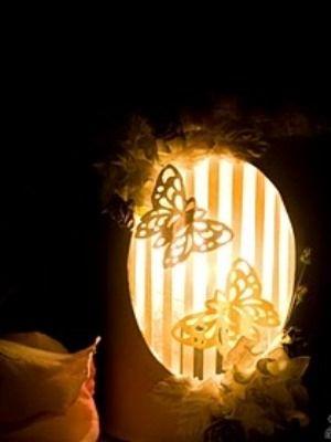 Из светильника ночник своими руками