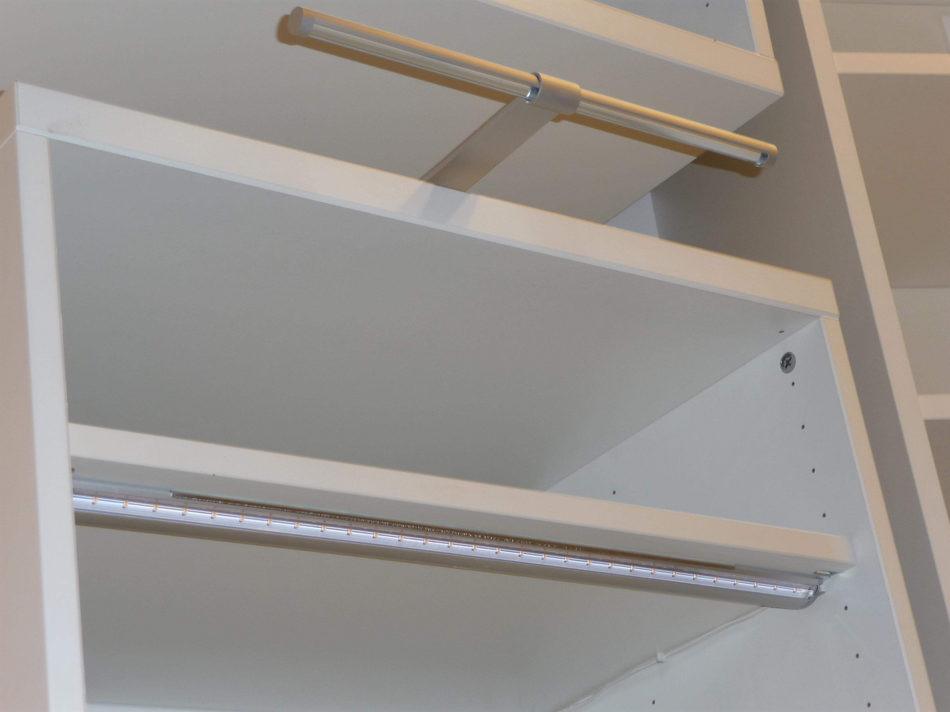 Удобное размещение LED светильника
