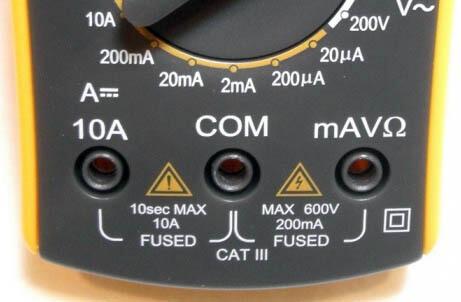 тестер электрический мультиметр инструкция - фото 6