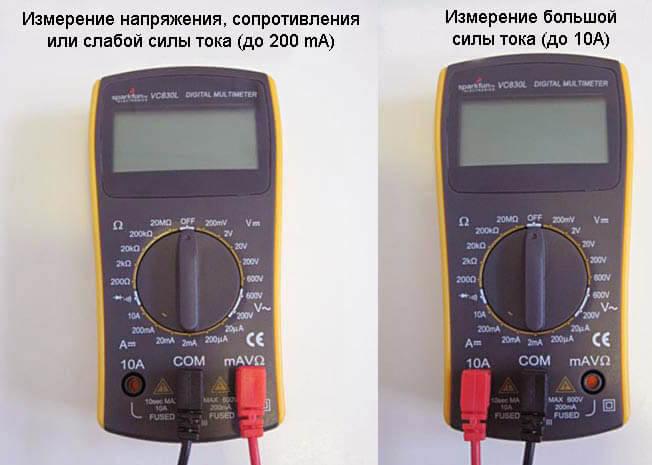 Как правильно измерить силу тока