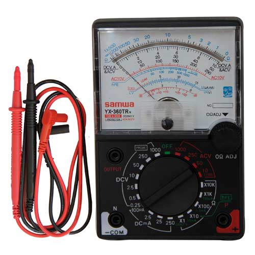 тестер электрический мультиметр инструкция - фото 3