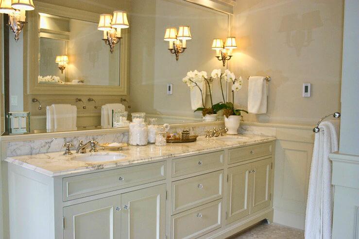 Освещение туалетного столика