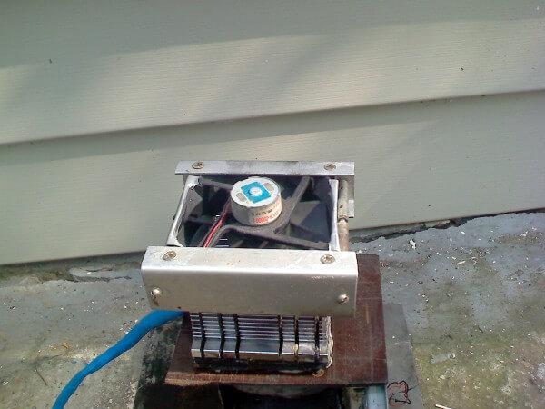Самодельный аппарат с системой охлаждения