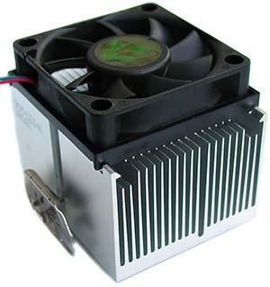 Радиатор с куллером фото