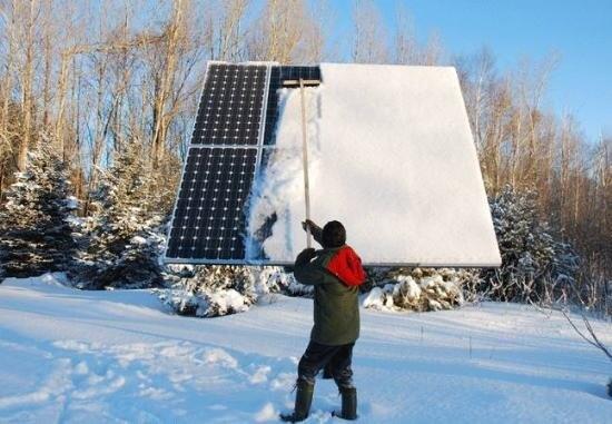 Очистка системы от снега