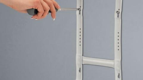 Как установить электрический конвектор на стену?