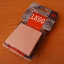 В чем преимущество розеток и выключателей серии LK60?