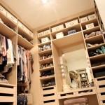 Компактный гардероб в квартире