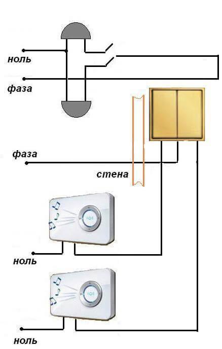 Электросхема для двухэтажного