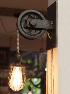 Старинный дизайн лампы