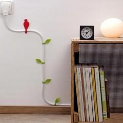 20 лучших идей маскировки проводов в квартире