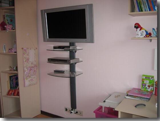 Подставки для телевизора на стену своими руками