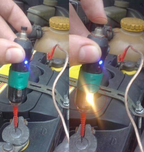 Как сделать самому контрольную лампу
