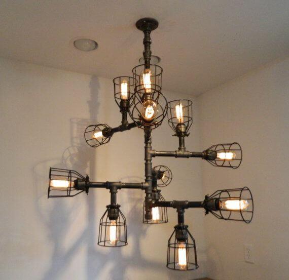 Светодиодные светильники своими руками потолочный 860