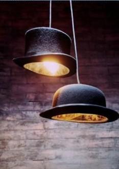 Шляпы в интерьере
