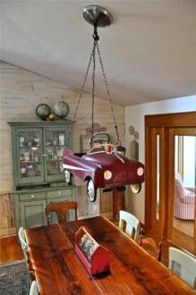 Интерьер гостиной под старину