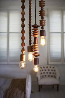 Необычный дизайн подвесных ламп