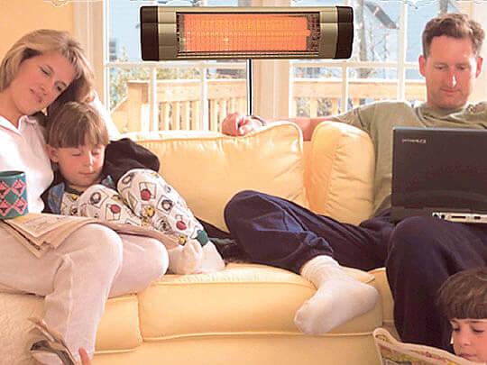 vred IK obogrevatelej 1 Насколько инфракрасные обогреватели опасны для человека? Фото