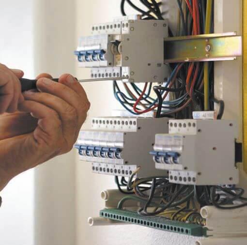 Установка автомата в электрощитке