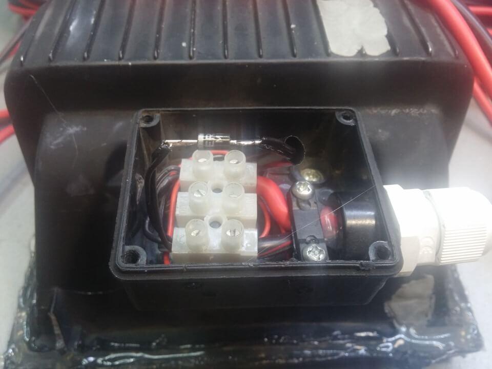 Монтажная коробка для проводов