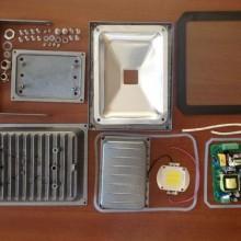 Самодельный светодиодный прожектор – инструкция по сборке