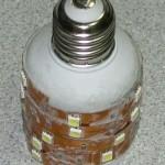 Лампочка из LED ленты