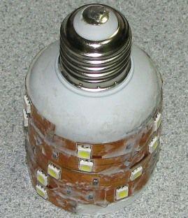 Как сделать лампочку из светодиодной ленты своими руками