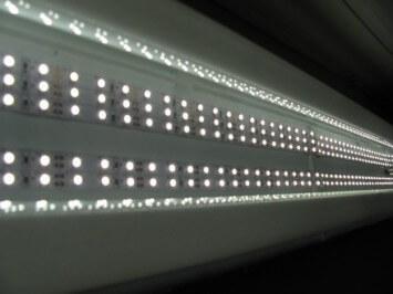 Включенный свет
