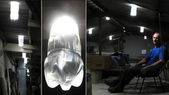 Свет внутри гаража без электричества фото
