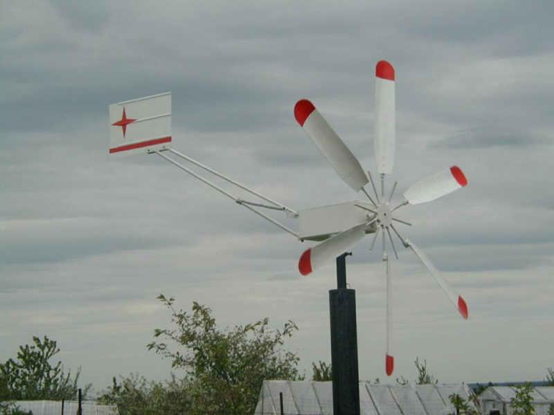 Самодельный ветряк фото