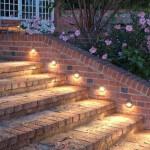 Точечные светильники в камне