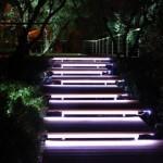 Применение светодиодной ленты на улице