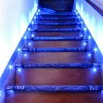 Современная синяя подсветка