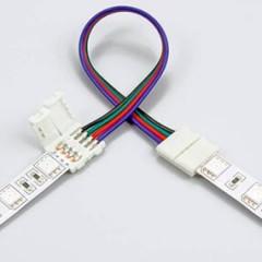 Способы соединения отрезков светодиодной ленты