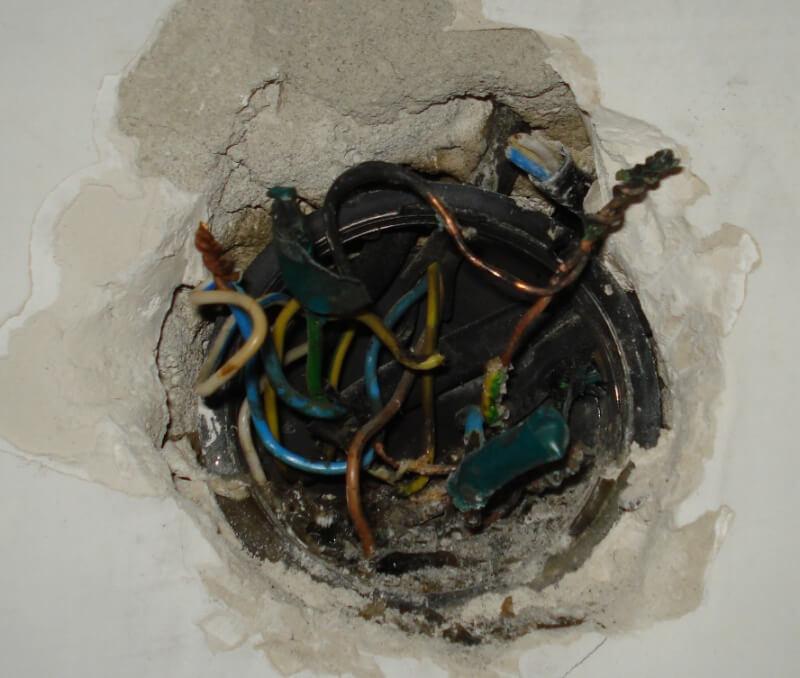 Неисправная электропроводка в квартире