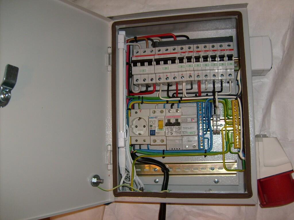 Монтаж квартирного электрощита