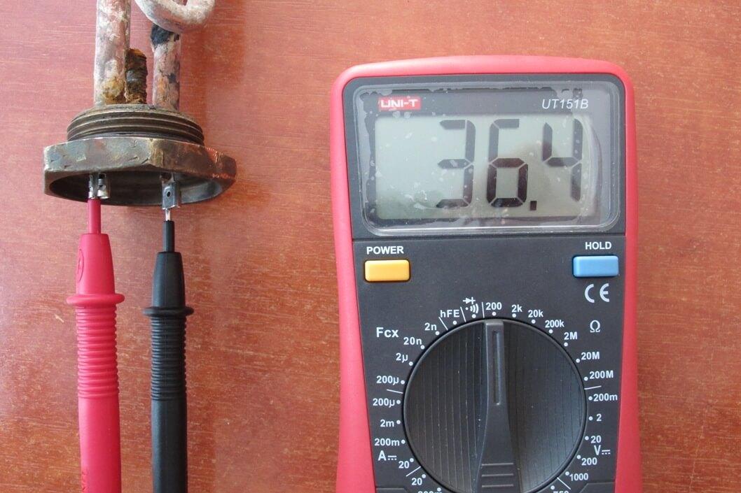 Как проверить ТЭН мультиметром и без тестера
