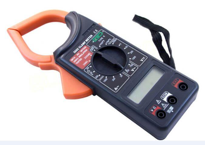 Мультиметр с токовыми клещами