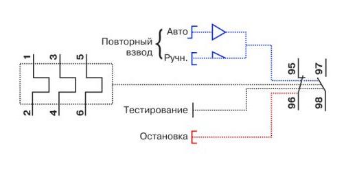sxema Как самостоятельно подключить тепловое реле — обзор схем Фото