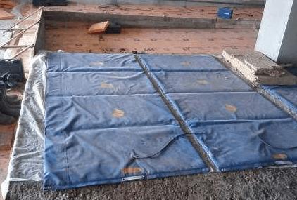 termomat Как прогреть бетон зимой во время стройки? Фото