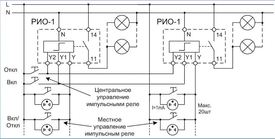 Подключение РИО-1
