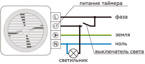 Схема с таймером