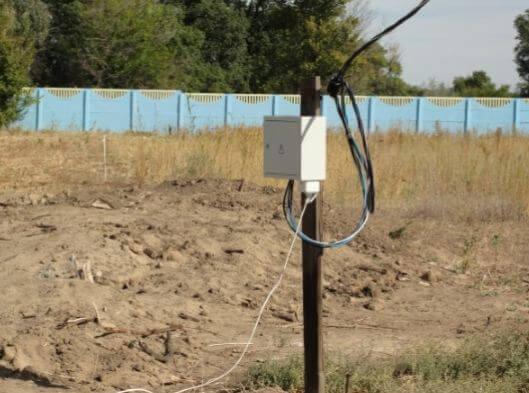 Как провести на дачный участок электричество